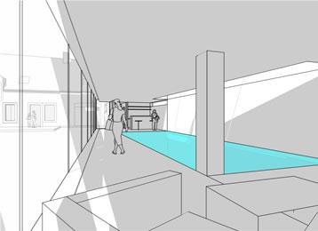 gap studio architectes urbanistes projets piscine. Black Bedroom Furniture Sets. Home Design Ideas